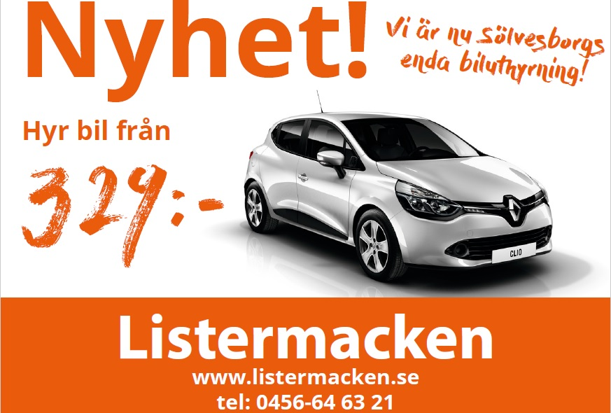 hyr skåp bil ~ sölvesborg  hyr din bil hos hyrbilen