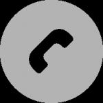 Phone Logga Ljusgrå